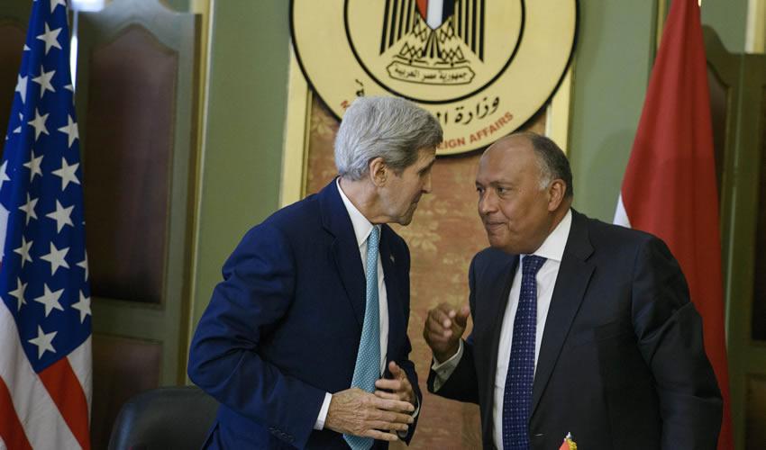 Se Reúnen Kerry y  Sameh Chukri