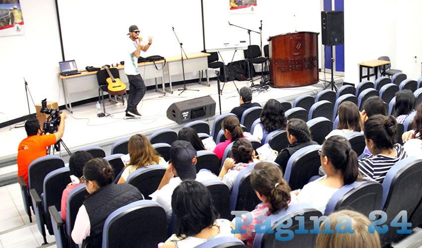 Deleita el Hip Hop de Vozcero, en  Polifonía Universitaria de la UAA