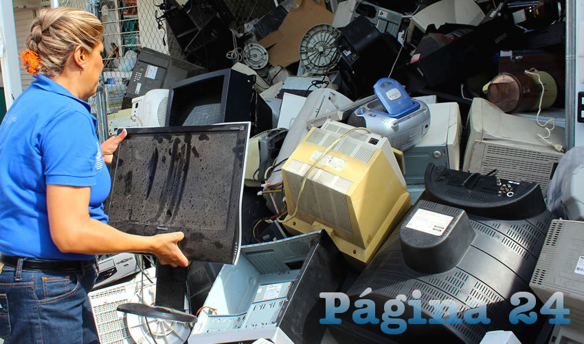 Reitera el Gobierno Municipal la Invitación a Depositar Electrónicos y Pilas de Desecho en Centros de Acopio