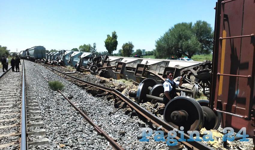 Se Descarrila el Tren