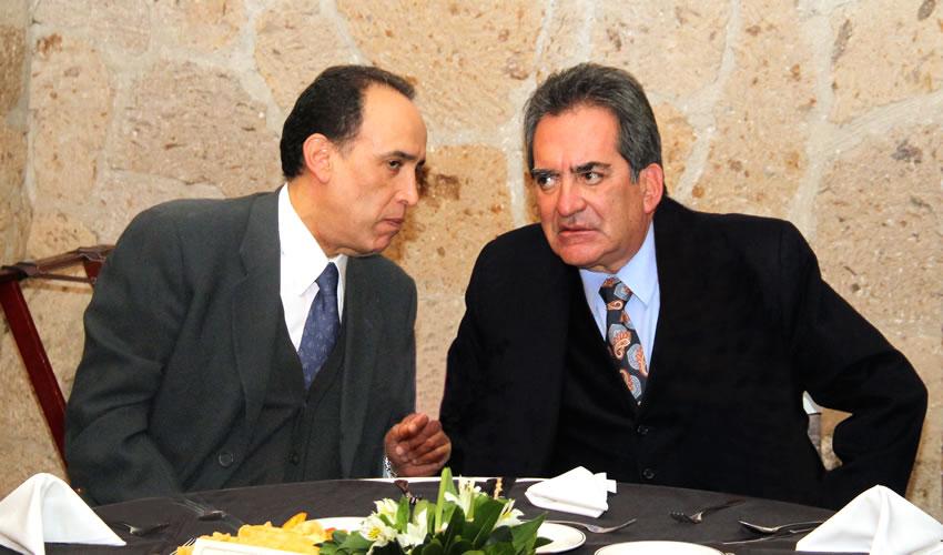 Felipe de Jesús Muñoz Vázquez y Carlos Lozano de la Torre