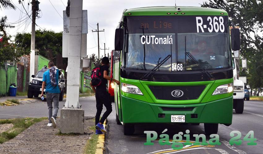Las rutas certificadas de camiones serán revisadas a detalle y si no cumplen, les bajarán la tarifa, informó la Secretaría de Movilidad/Foto: Cortesía