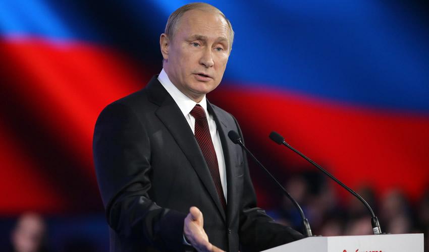 Vladimir Putin Presenta Nuevo Misil Hipersónico