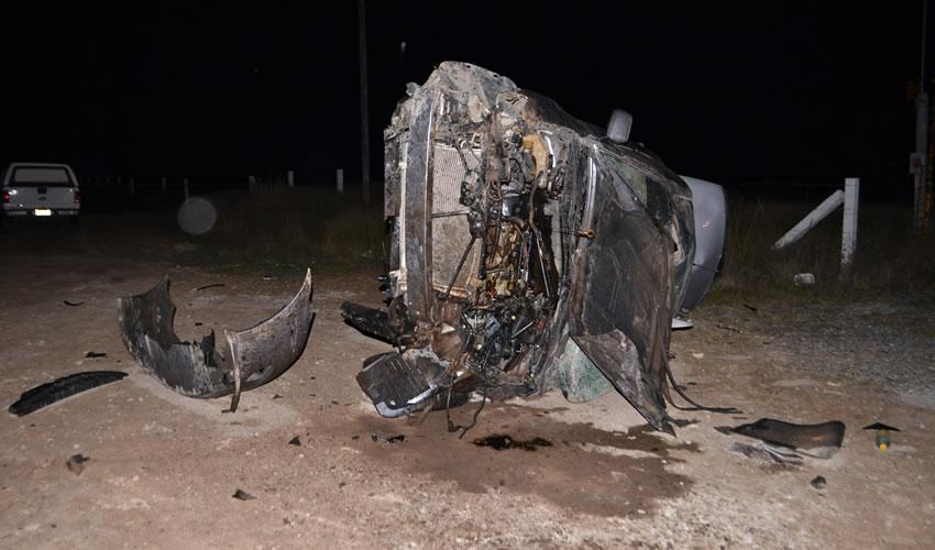 Fatal Volcadura en Carretera a Loreto