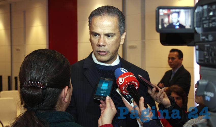 José Antonio Arámbula López, alcalde electo por el municipio de Jesús María