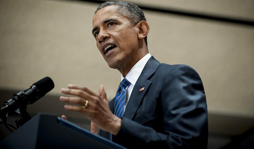 Barack Obama y Merkel Defienden la Democracia y las Libertades Individuales