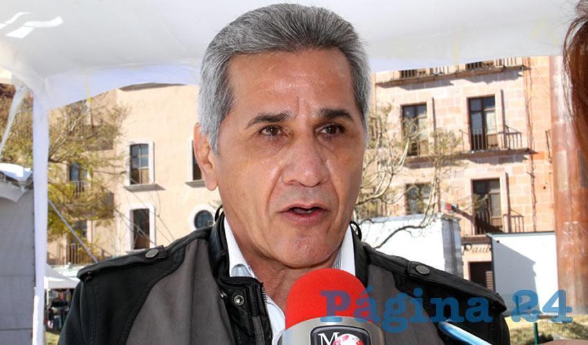 Jesús Vallejo Díaz, subsecretario de Agricultura
