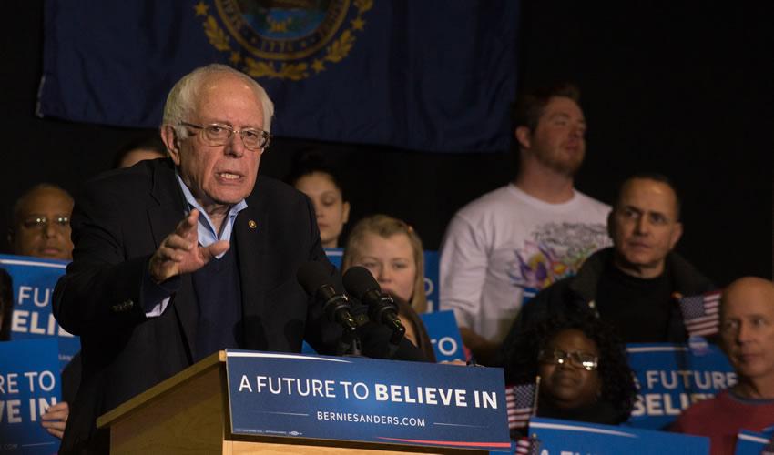 Ganan Bernie Sanders y Trump  las Primarias de New Hampshire