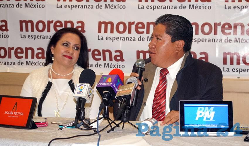 Mónica Borrego Estrada, Precandidata a Diputada Local por Morena: Monreal