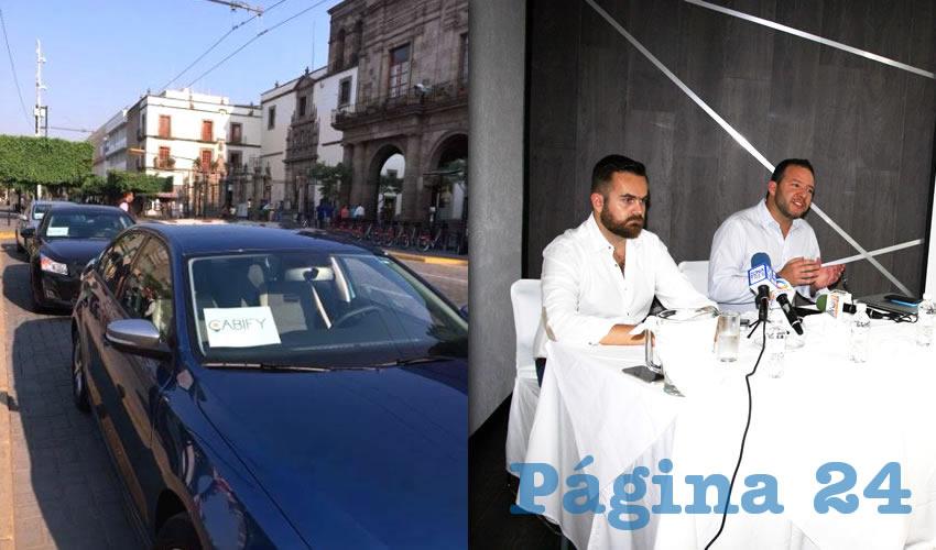 Cabify hace parada  en Guadalajara