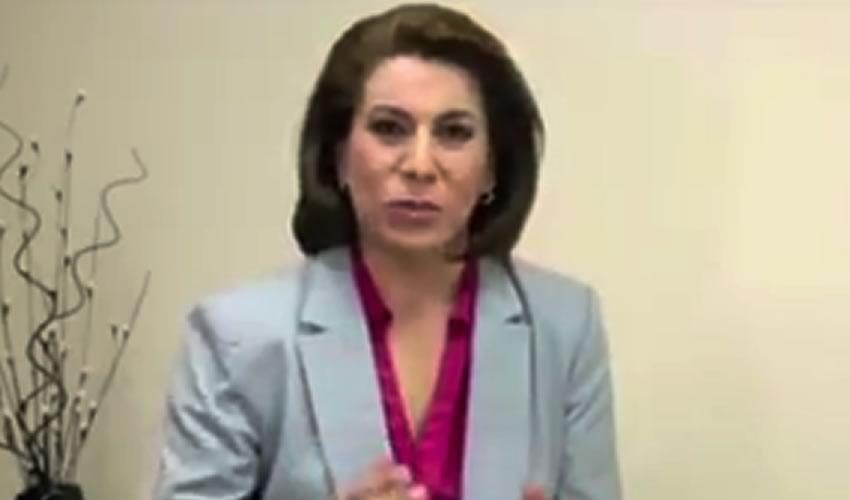 """Lorena: """"Aguascalientes es Tierra de Gente Valiente"""""""