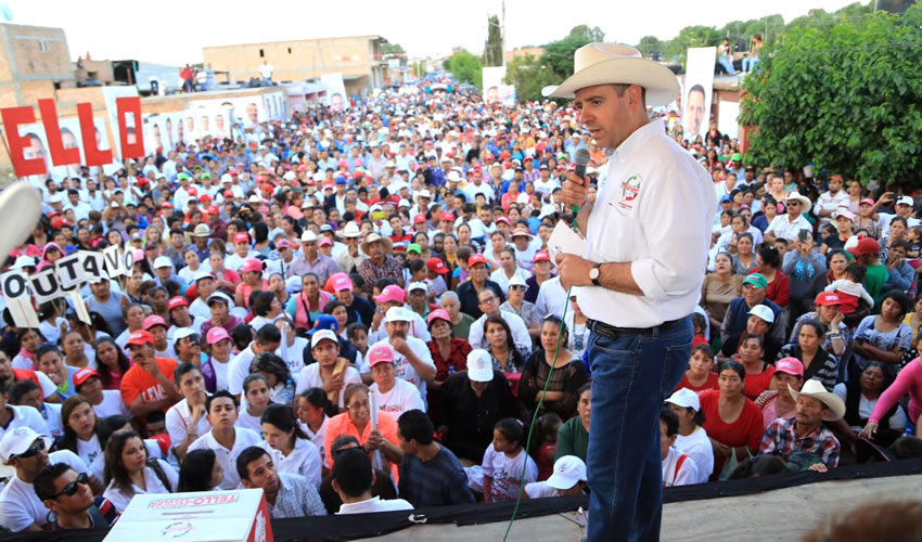 Votar por Tello es Votar Porque Regrese la Tranquilidad a Zacatecas