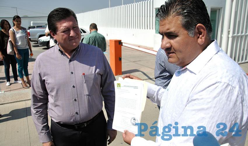 PVEM y PRI Denuncian a David Monreal por Utilizar los Logos de Estos Partidos