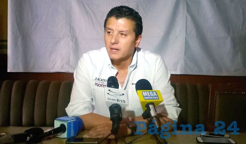 Se Defiende Rafael Candelas Salinas de Acusaciones del PRI