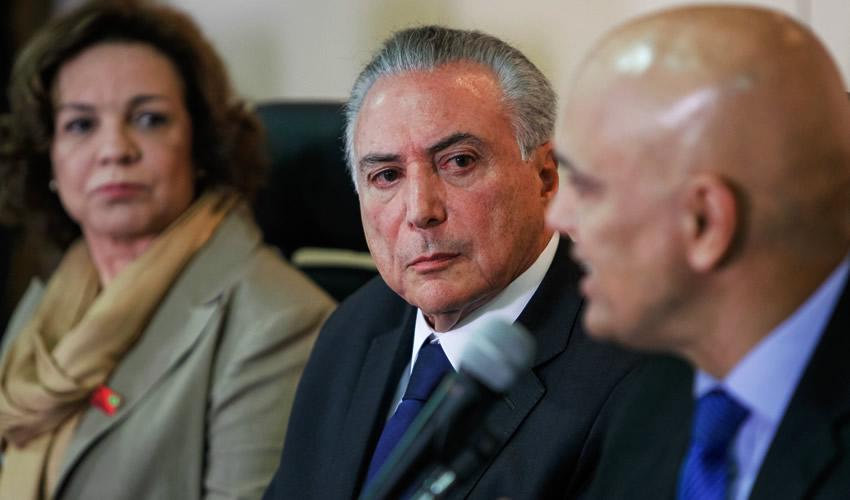 Michel Temer, presidente de Brasil (Foto: Beto Barata/Archivo/Presidencia de Brasil)
