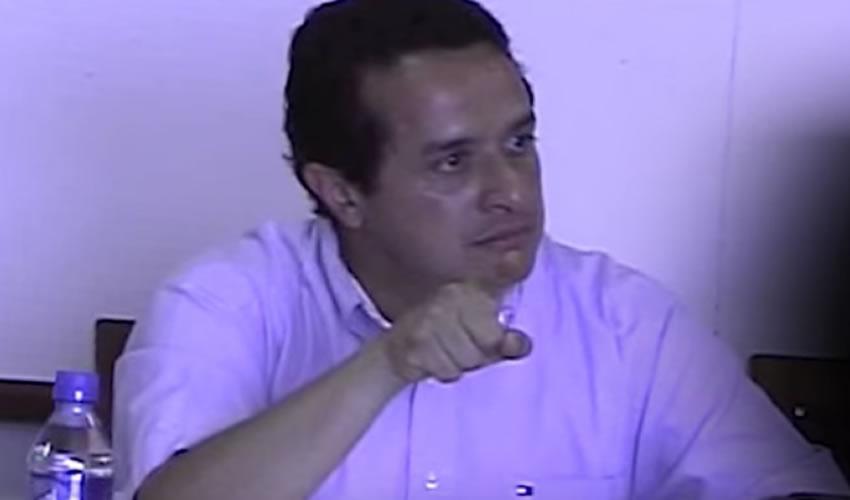 Candidato a Gobernador Carlos Joaquín Amenaza a sus Colaboradores
