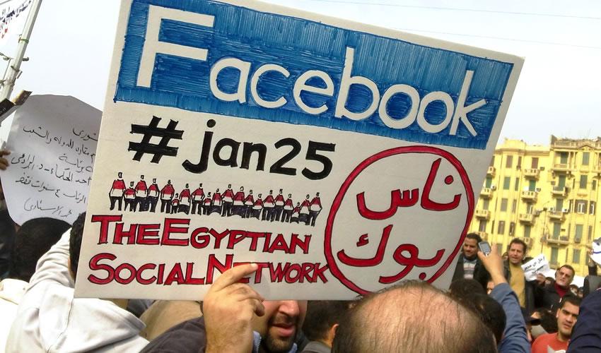 Resultado de imagen de primaveras arabes redes sociales