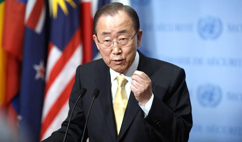 El secretario general de la ONU, Ban Ki–moon (Foto: Archivo/Xinhua)