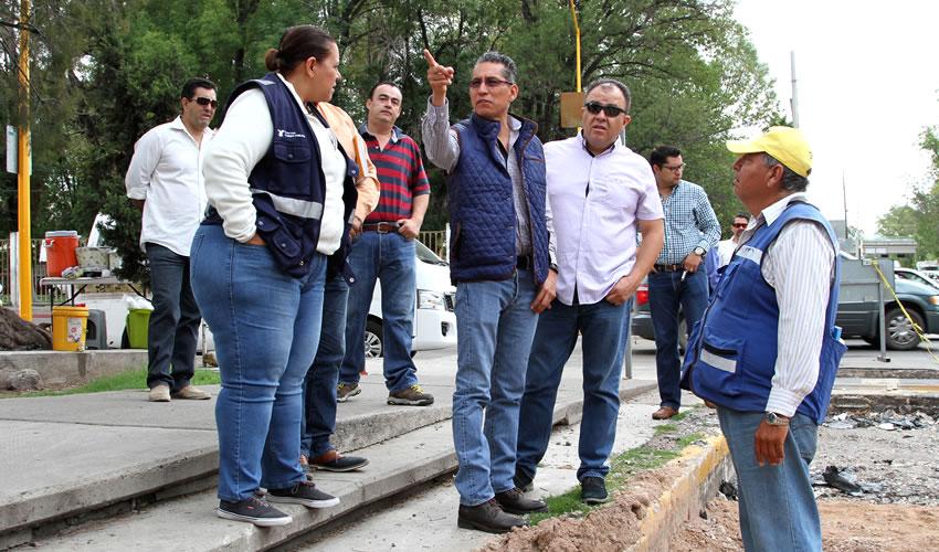 Regidores Capitalinos Supervisaron  Avances en Obras de Infraestructura