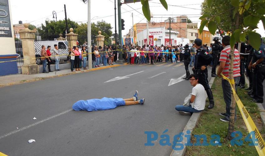 Atropellan y Matan a Joven Previo a la Marcha LGBTTTI