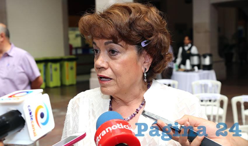 """RoxanaD'Escobar López Arellano, directora de la Fundación """"Mujer Contemporánea"""" (Foto: Eddylberto Luévano Santillán)"""