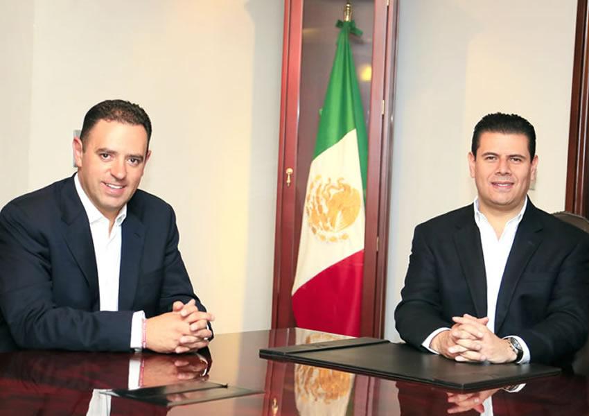 Formalizan MAR y Alejandro Tello Coordinación Institucional
