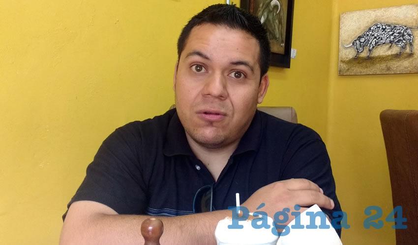 Moisés Arellano Delgado, miembro del Colegio de Biólogos de Aguascalientes