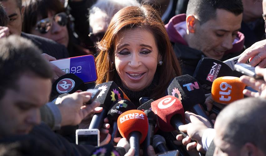 Expresidenta Cristina Fernández de Vuelta al Congreso Argentino