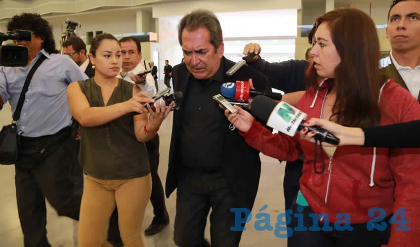 El Gobernador Lozano Está de Acuerdo en la Eliminación del Fuero a los Funcionarios