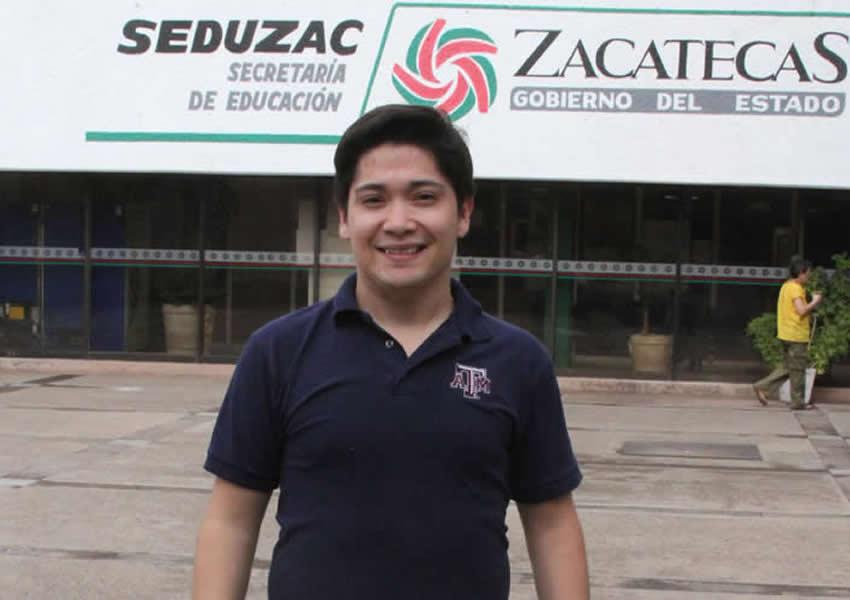 Óscar Josué, un Zacatecano que Destaca en Texas A. & M. University