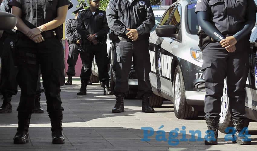 Vigila Tlaquepaque a  sus policías municipales