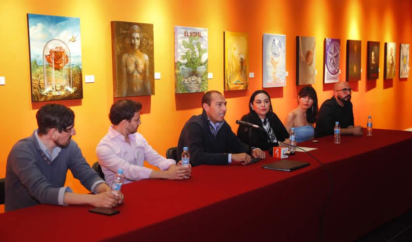 """""""Lotería Mexicana, encuentro internacional de arte figurativo"""" se exhibirá hasta el 30 de septiembre del presente año en el Museo Nacional de la Muerte"""