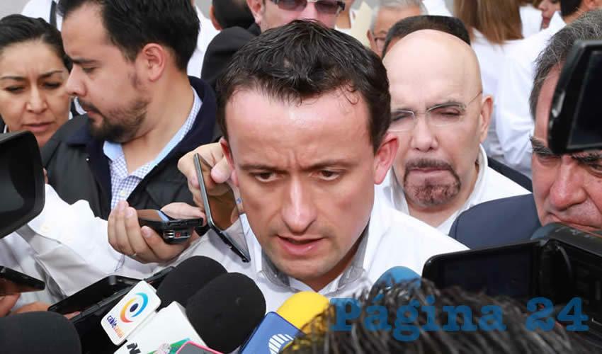 Mikel Arriola: Cuenta el IMSS con Capacidad Financiera Hasta 2019