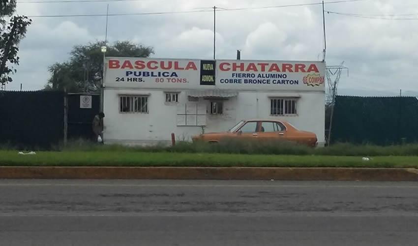 Asalto a Chatarrera;  Botín de 25 mil Pesos