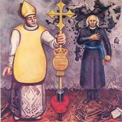 """Manuel Abad y Queipo ...""""¡Que el Cristo de la santa Virgen lo condene!""""..."""