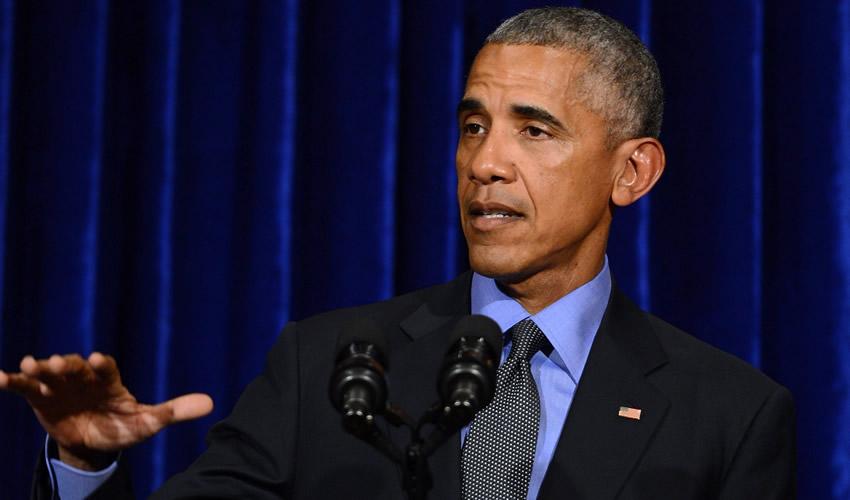 Chicago, EU.- El presidente estadounidense, Barack Obama, después de ofrecer su discurso de despedida (Fotos: Xinhua)