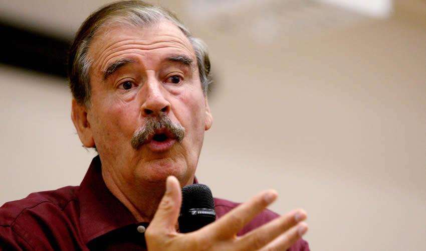Vicente Fox Quesada ... ¿ya olvidaron su intromisión?..