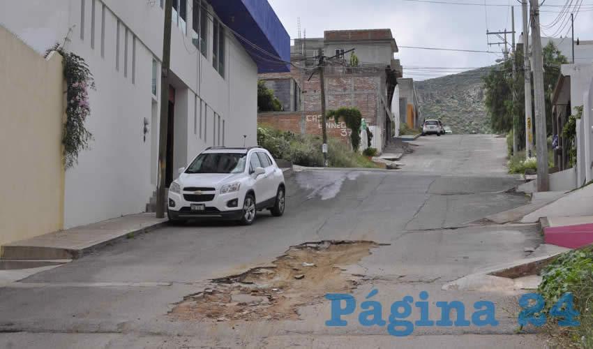 Ni la Pasada ni la Actual Administración Solucionan el Problema de los Baches en Guadalupe