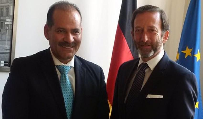 Se Reúne Martín Orozco con el Embajador de Alemania en México