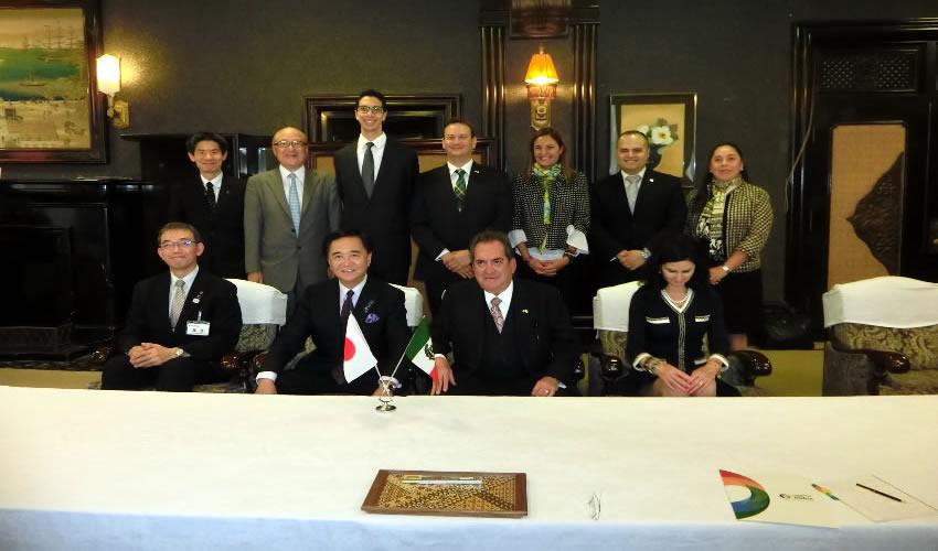 Confirma Visita a Aguascalientes el Gobernador de Kanagawa