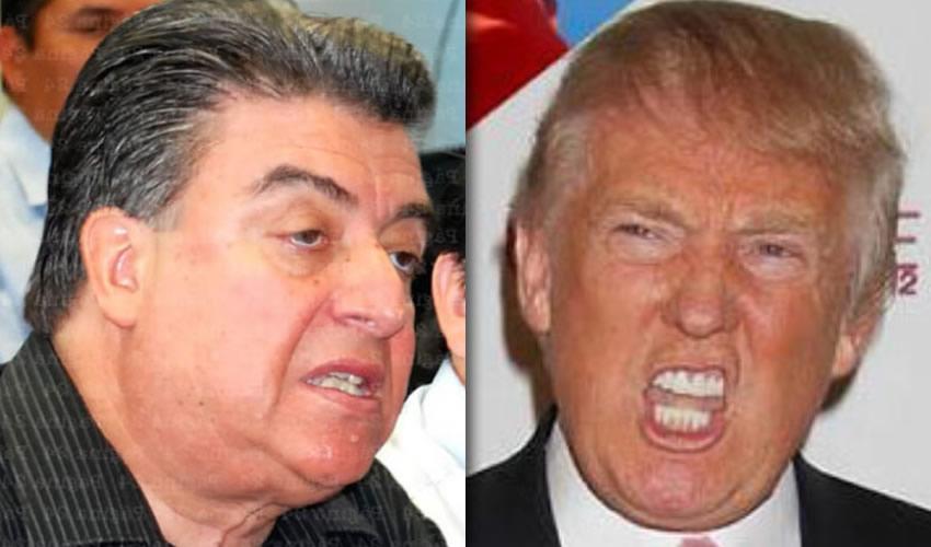 Felipe González González y Donald Trump ..muy parecidos, pero que se sepa el gringo no se tira a sus ahijadas...