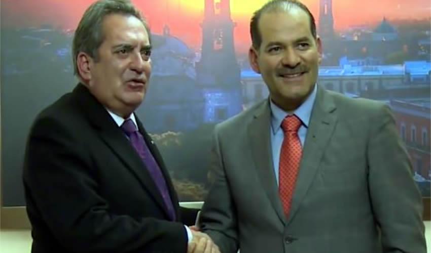 Reunión de Carlos Lozano con Martín Orozco
