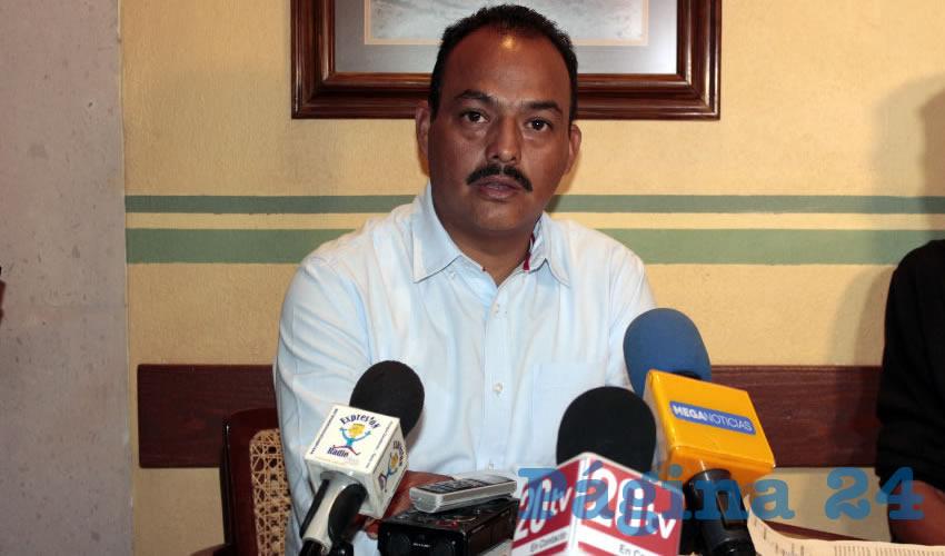 Lucio Mendoza Amaro, dirigente del Sindicato de Trabajadores del Colegio de Estudios Científicos y Tecnológicos del Estado de Zacatecas (Stcecytez)