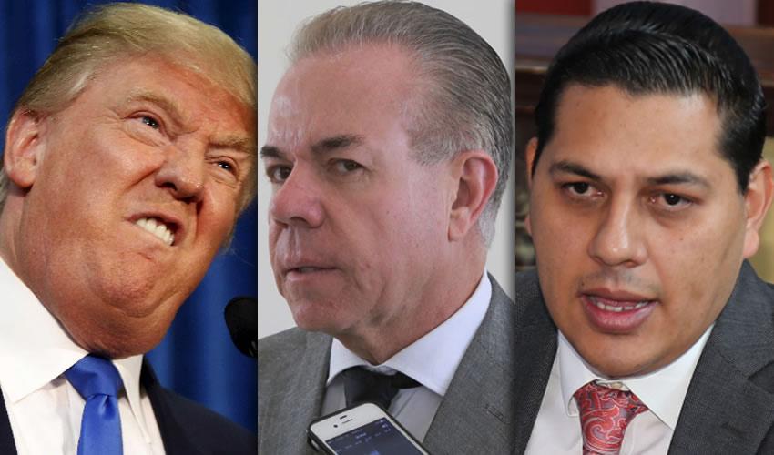 Donald Trump ...y sus mamilas amenazas... Javier Luévano Núñez ...¿delirium tremens?.. Gerardo Macías López ...pásela pa'andar iguales...
