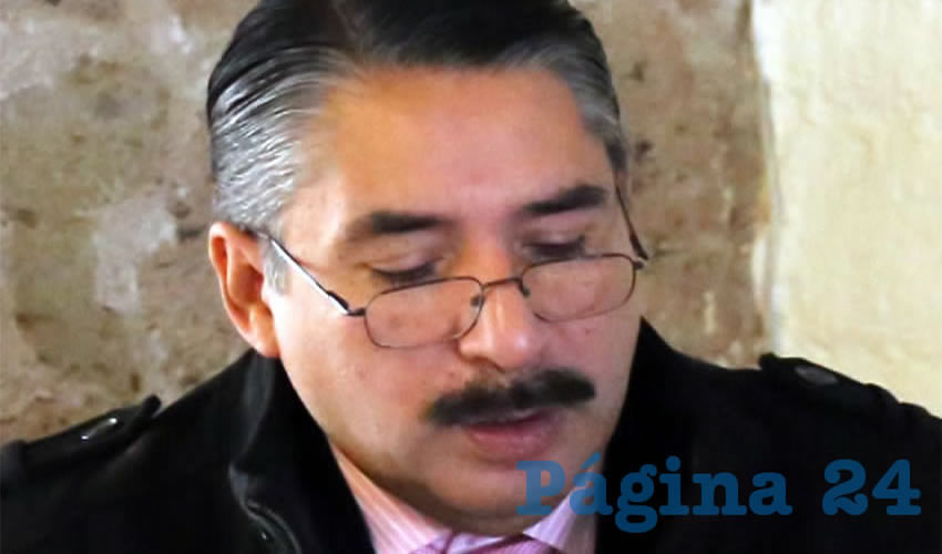 Óscar Fidel González Mendívil ...nominado a salir de la Fiscalía...