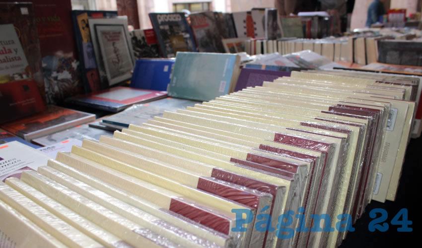 Registran Altas Ventas Comerciantes de Libros en el Portal de Rosales