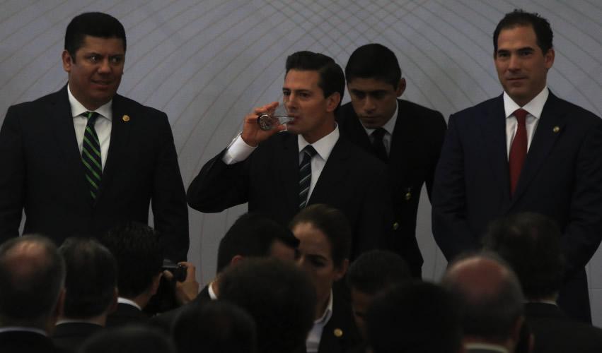 Labor del Ejército no es la Vigilancia  y Seguridad, Reconoce Peña Nieto