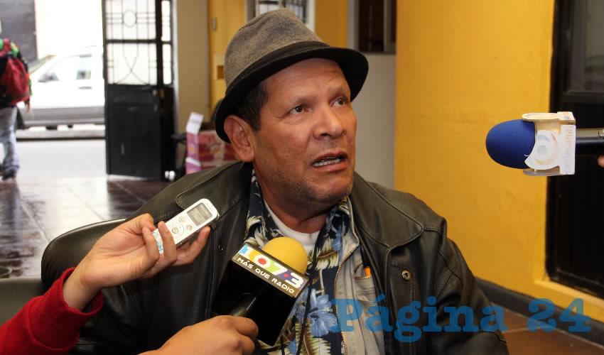 Xicoténcatl Cardona Campos, presidente de la Casa del Migrante