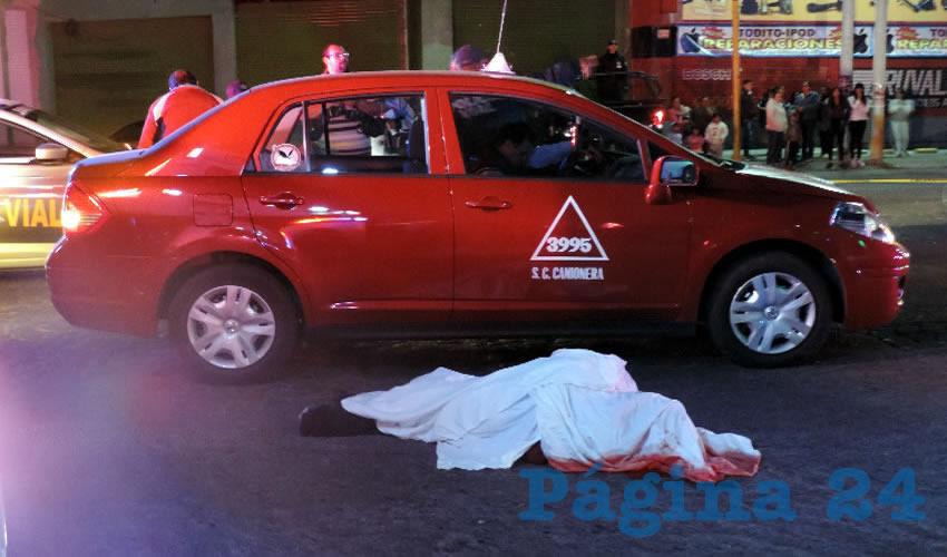 Taxista Mata a Panadero