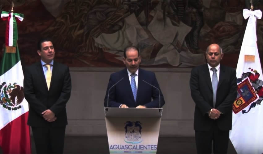 Presentación y Toma de Protesta Gabinete Estatal 2016-2022 de Aguascalientes